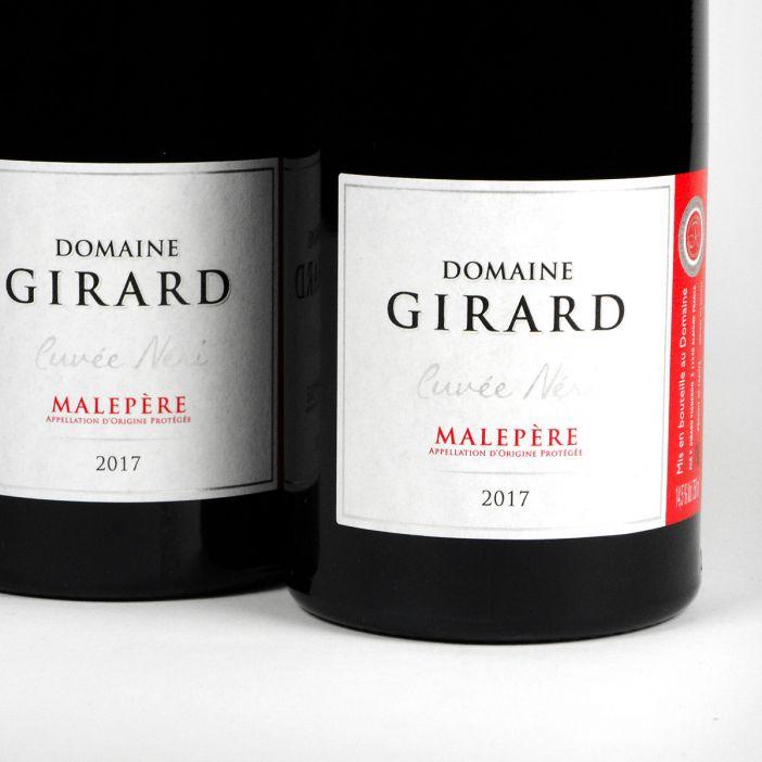 Malepère: Domaine Girard 'Cuvée Neri 2017