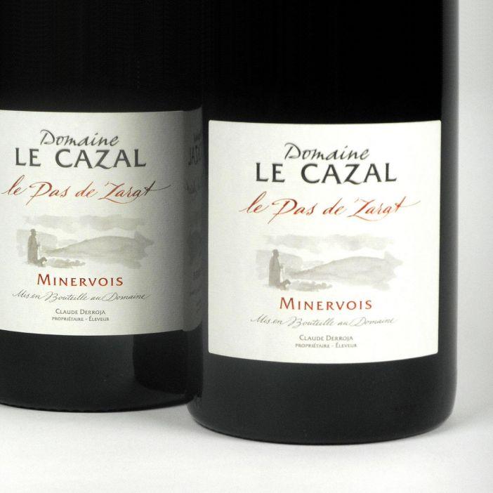 Minervois: Domaine Le Cazal 'Le Pas de Zarat' 2014