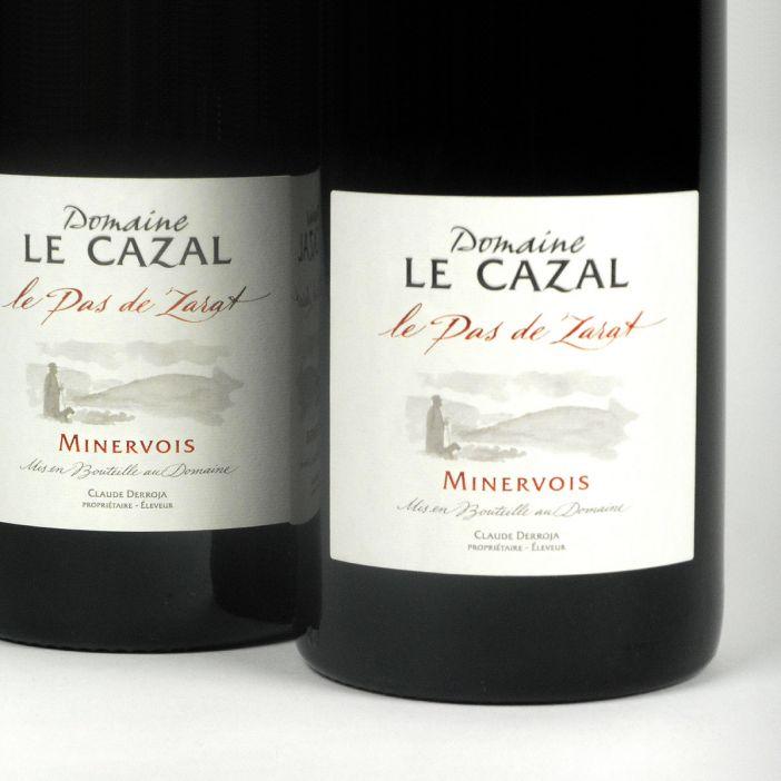 Minervois: Domaine Le Cazal 'Le Pas de Zarat' 2017