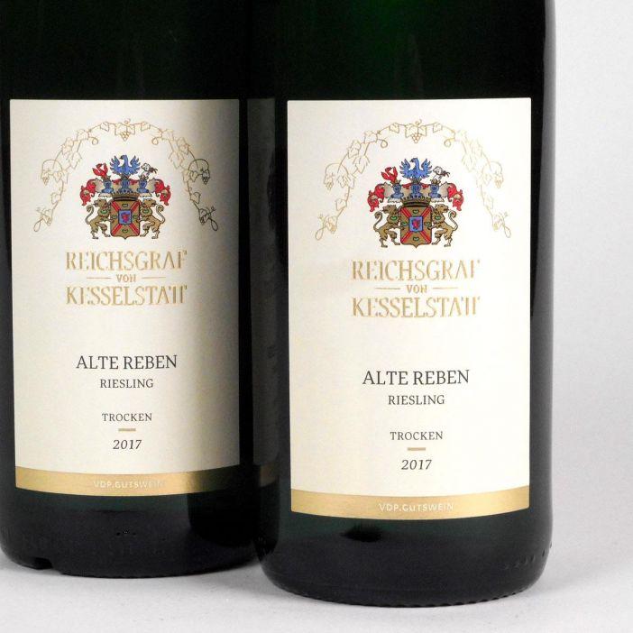 Mosel: Reichsgraf von Kesselstatt Alte Reben Trocken Riesling 2017