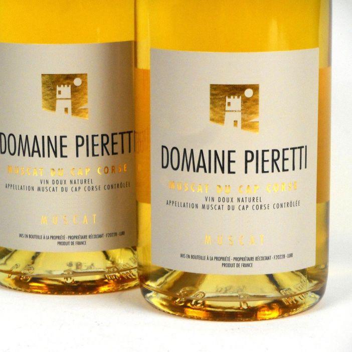 Muscat du Cap Corse: Domaine Pieretti 2018
