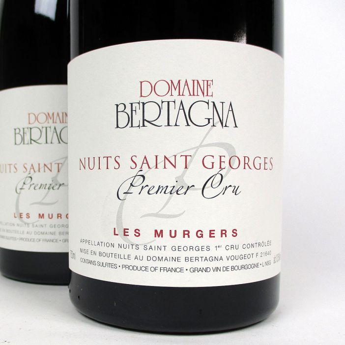 Nuits-Saint-Georges: Domaine Bertagna Premier Cru 'Les Murgers' 2013
