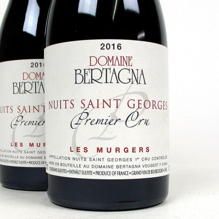 Nuits-Saint-Georges: Domaine Bertagna Premier Cru 'Les Murgers' 2016