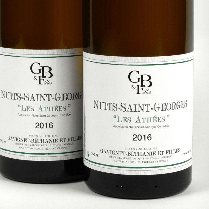 Nuits-Saint-Georges: Domaine Gavignet-Béthanie et Filles 'Les Athées' Blanc 2016