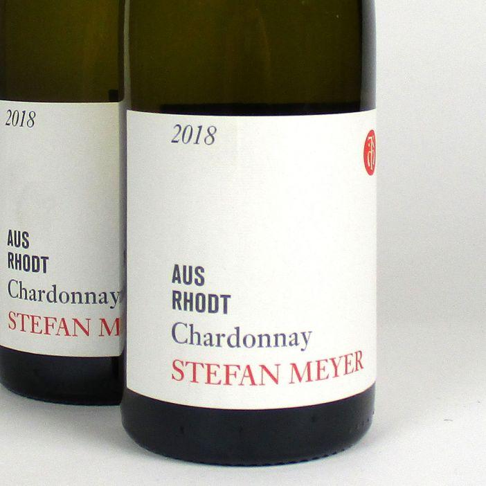 Pfalz: Stefan Meyer 'Aus Rhodt' Chardonnay 2018