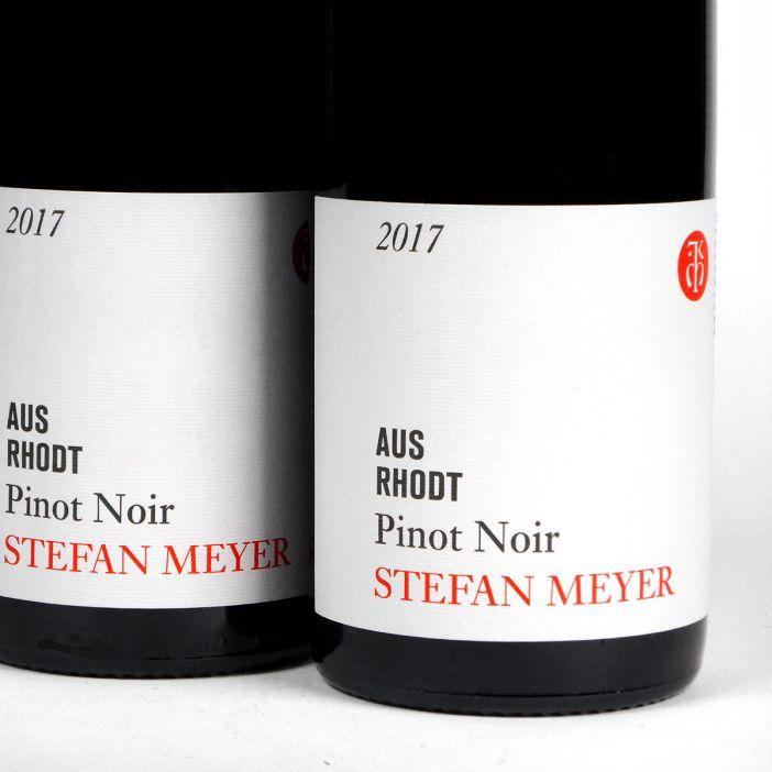 Pfalz: Stefan Meyer 'Aus Rhodt' Pinot Noir 2017