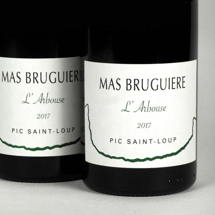Pic Saint-Loup: Mas Bruguière 'l'Arbouse' 2017