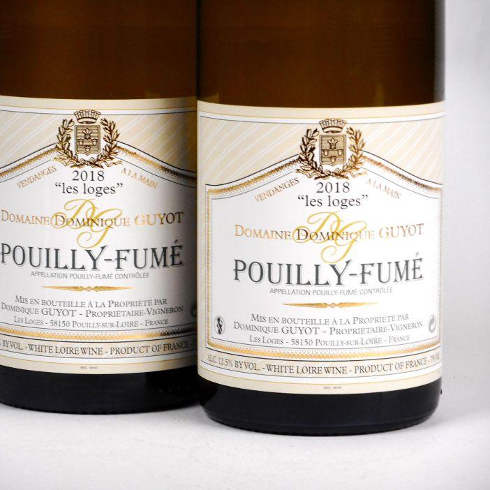 Pouilly-Fumé: Domaine Dominique Guyot 'Les Loges' 2018