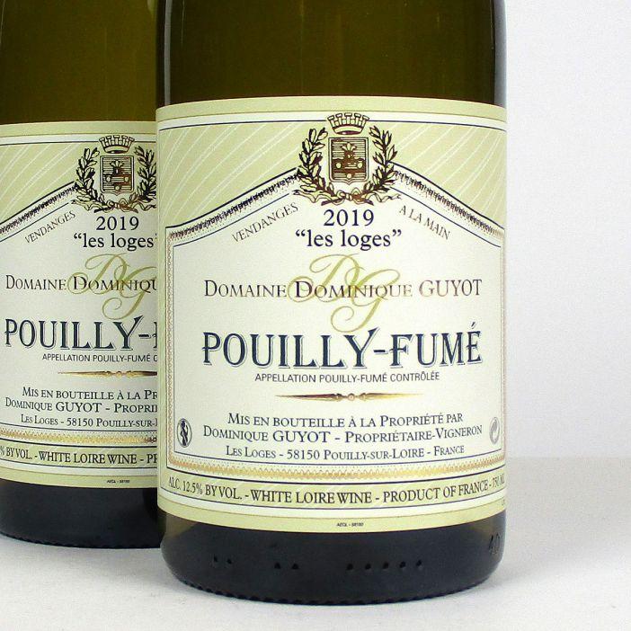 Pouilly-Fumé: Domaine Dominique Guyot 'Les Loges' 2019