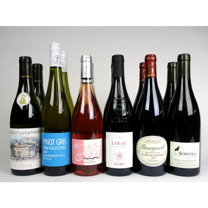 Praised in Print Mixed Case Wine Offer
