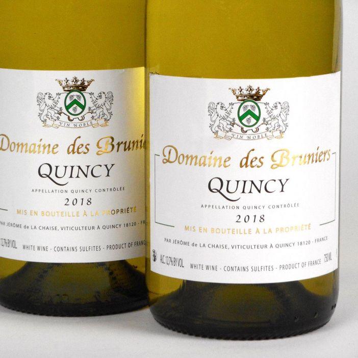 Quincy: Jerôme de la Chaise 2018