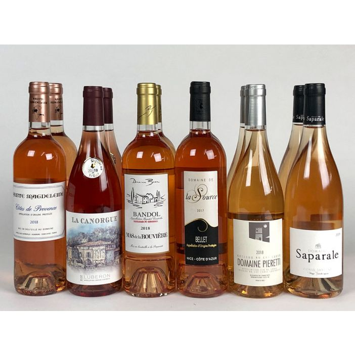 Respected Rosé Mixed Case WIne Offer