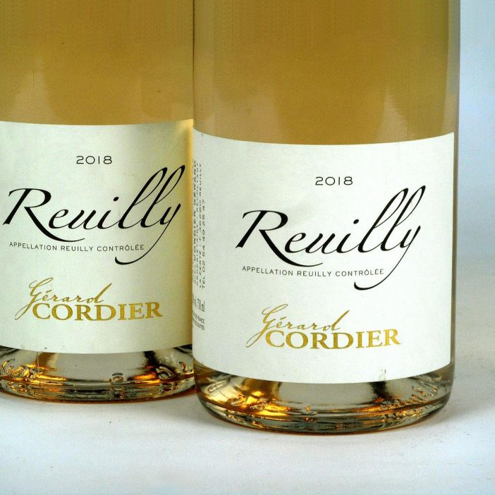 Reuilly: Gerard Cordier Pinot Gris 2018