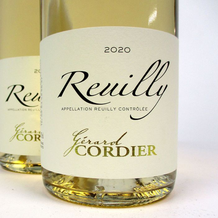 Reuilly: Gerard Cordier Pinot Gris 2020