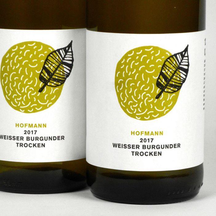 Rheinhessen: Jürgen Hofmann Weisser Burgunder Trocken 2017