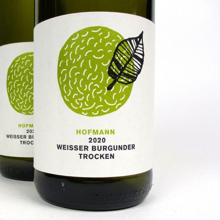 Rheinhessen: Jürgen Hofmann Weisser Burgunder Trocken 2020