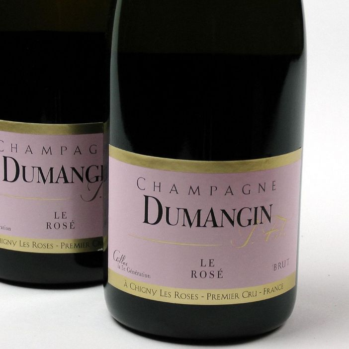 Champagne: Dumangin Fils. Rosé