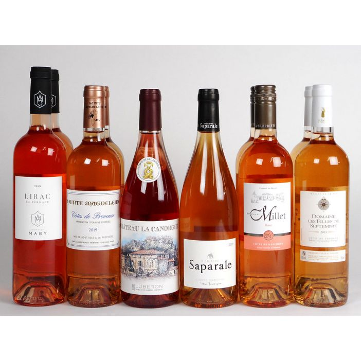 'Rosé Riposte' Mixed Case Wine Offer