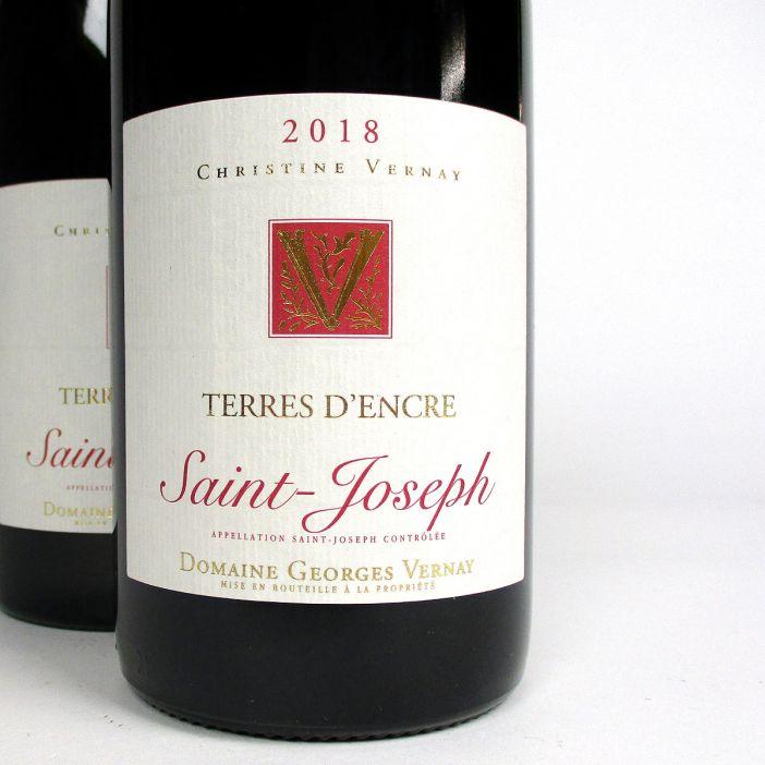 Saint-Joseph: Domaine Georges Vernay 'Terres d'Encre' 2018