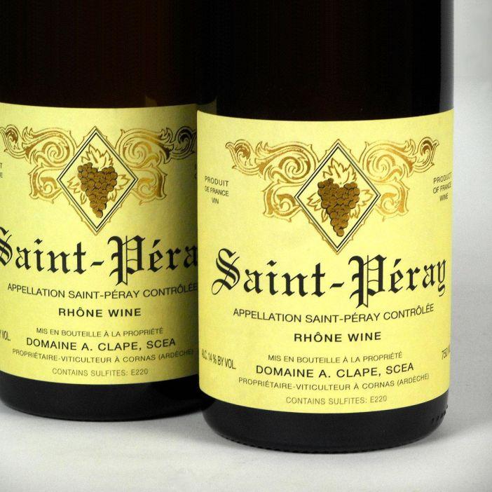 Saint-Péray: Domaine Clape 2017