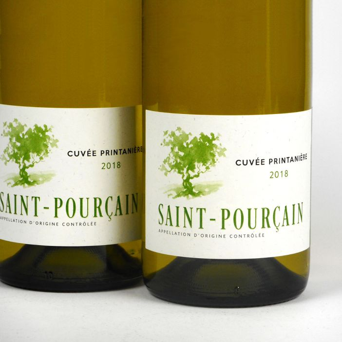 Saint-Pourçain: 'Cuvée Printanière' Blanc 2018