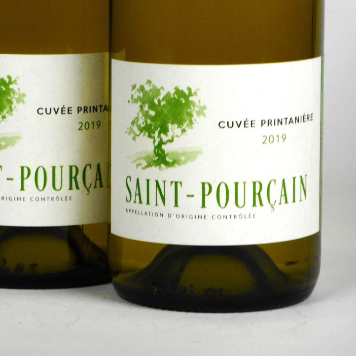 Saint-Pourçain: 'Cuvée Printanière' Blanc 2019