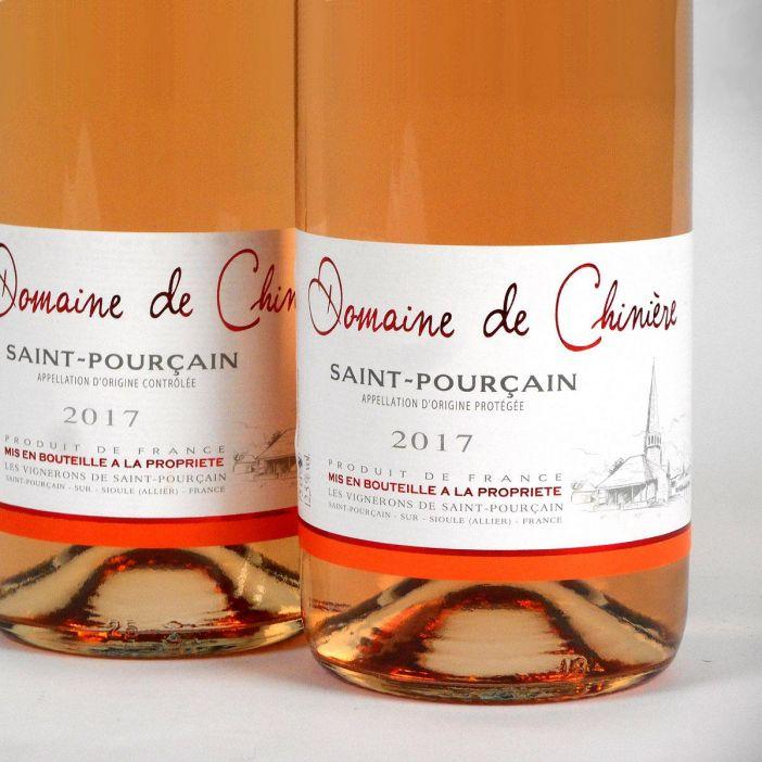 Saint-Pourçain: Domaine de Chinière Rosé 2017