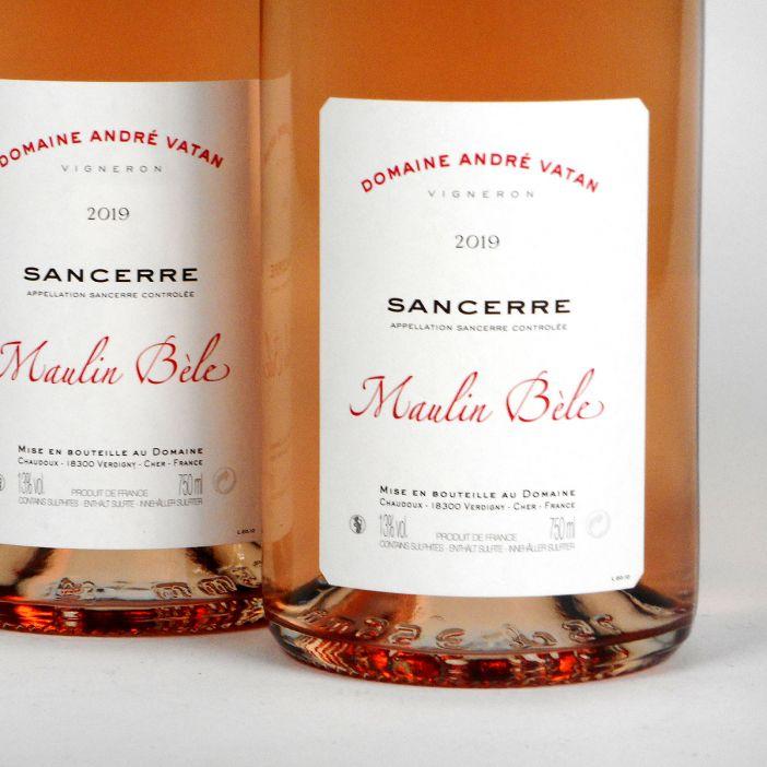 Sancerre: Domaine André Vatan 'Maulin Bèle' Rosé 2019