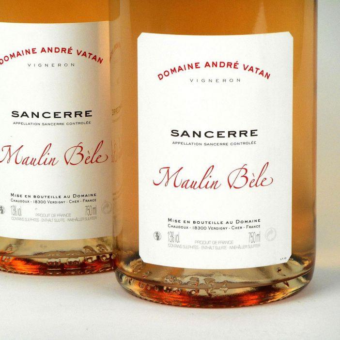 Sancerre: Domaine André Vatan 'Maulin Bèle' Rosé 2018