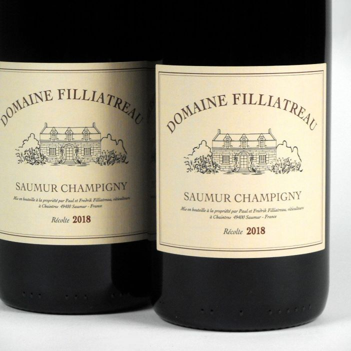 Saumur Champigny: Domaine Filliatreau 2018