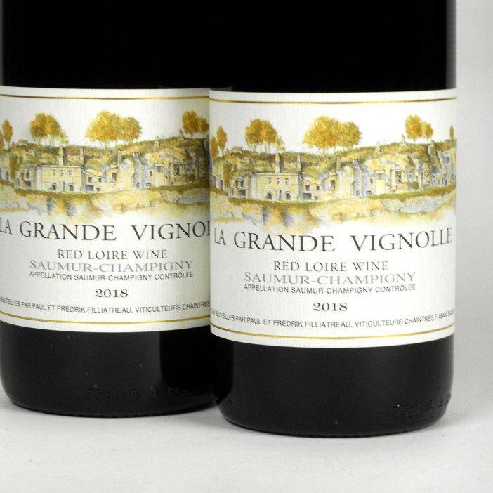 Saumur Champigny: Domaine Filliatreau 'La Grande Vignolle' 2018