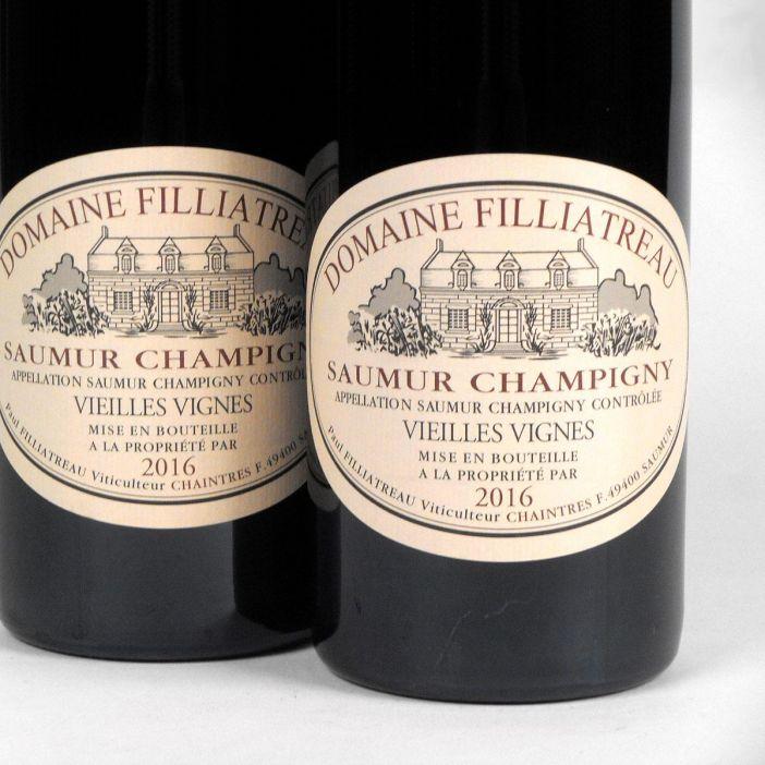 Saumur Champigny: Domaine Filliatreau 'Vieilles Vignes' 2016