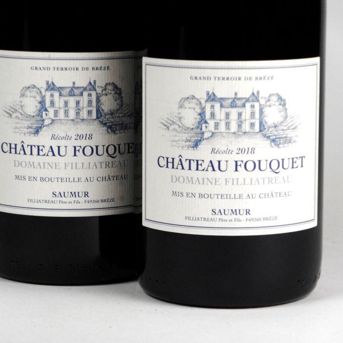 Saumur: Domaine Filliatreau Château Fouquet Rouge 2018