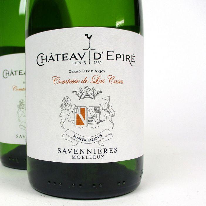 Savennières: Château d'Epiré 'Comtesse de las Cases' Moelleux 2018