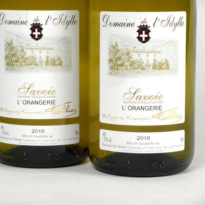 Savoie: Domaine de L'Idylle 'Cuvée l'Orangerie' 2018