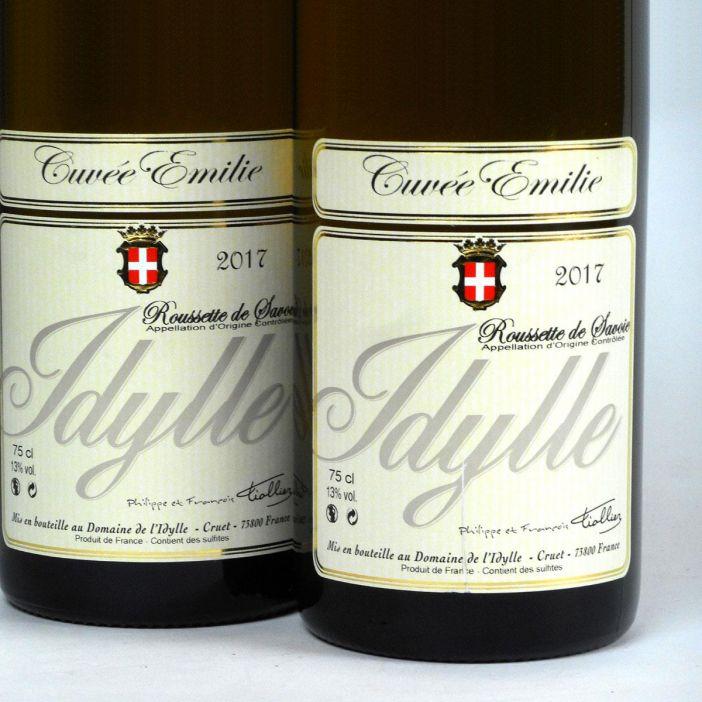 Savoie: Domaine de L'Idylle: Roussette 'Cuvée Emilie' 2017