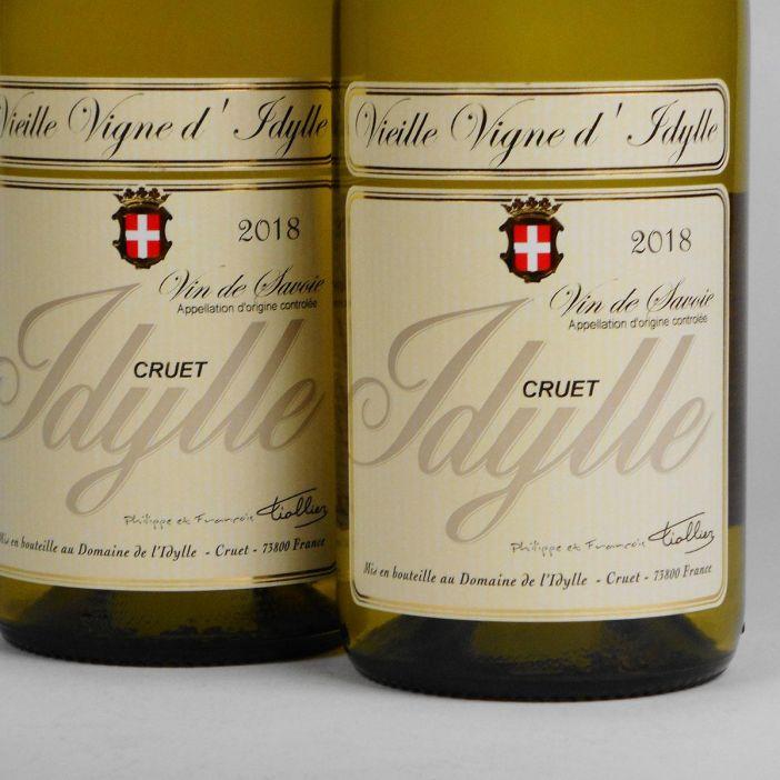 Savoie: Domaine de l'Idylle 'Vieilles Vignes' Blanc 2018