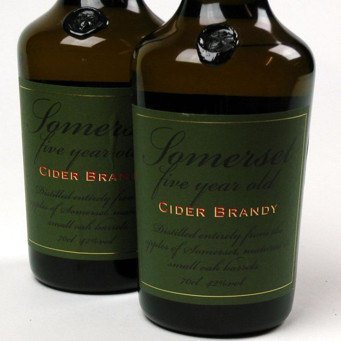 Somerset Cider Brandy: 5 year old