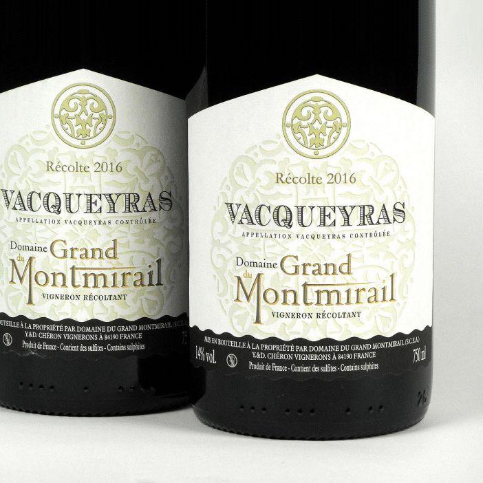 Vacqueyras: Domaine du Grand Montmirail 2016