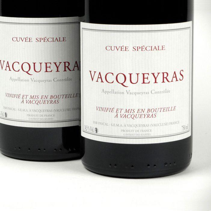 Vacqueyras: Pascal Frères 'Cuvée Spéciale' 2016