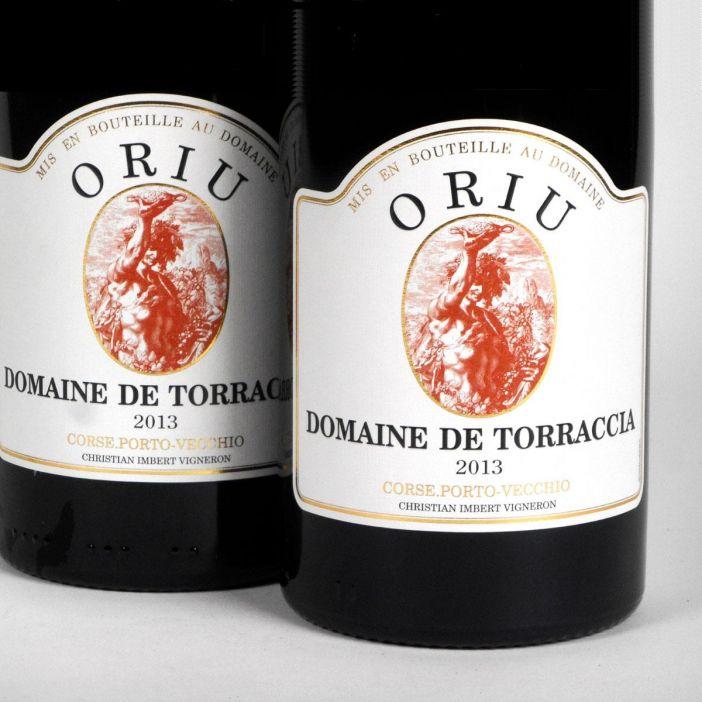 Vin de Corse Porto Vecchio: Domaine de Torraccia: Cuvée Oriu 2013