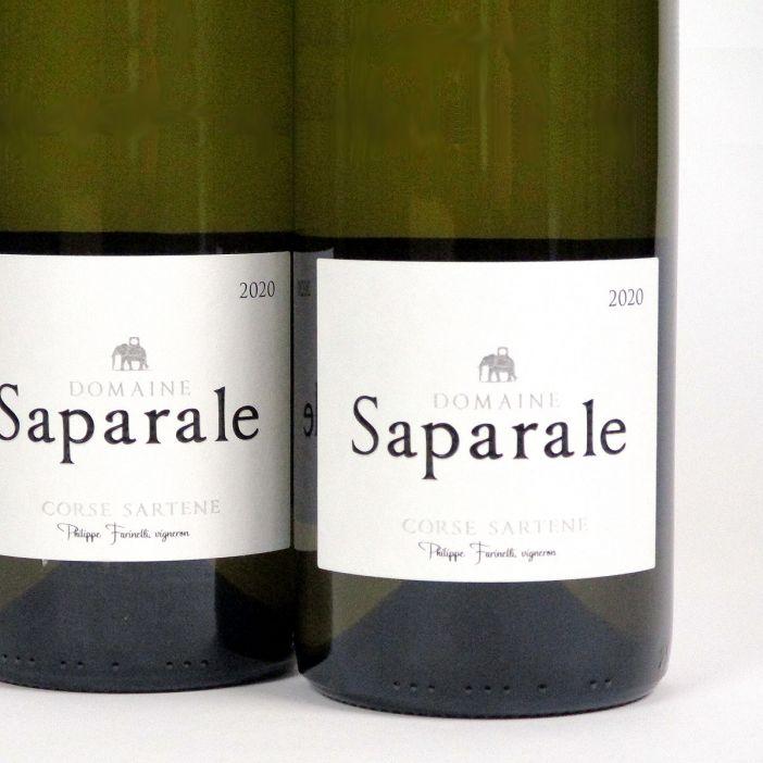 Vin de Corse Sartène Blanc: Domaine Saparale 2020