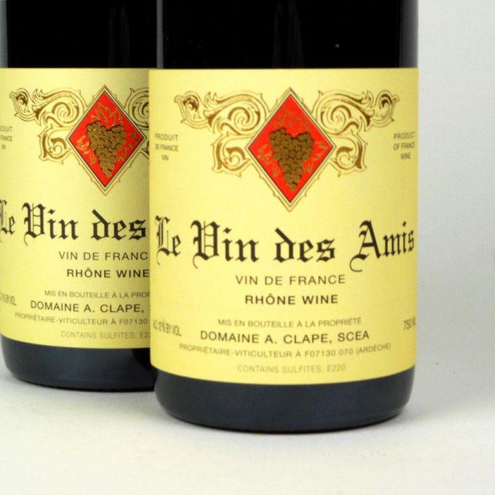 Vin de France: Domaine Clape 'Vin des Amis' 2016