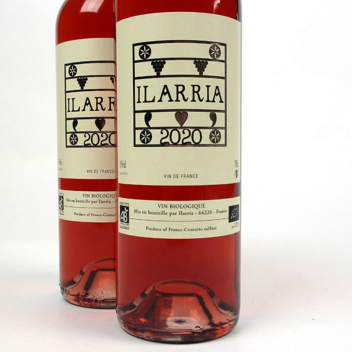 Vin de France: Domaine Ilarria Rosé 2020