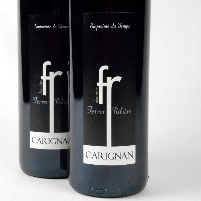 IGP Côtes Catalanes: Domaine Ferrer-Ribière 'Empreinte du Temps' Carignan 2016