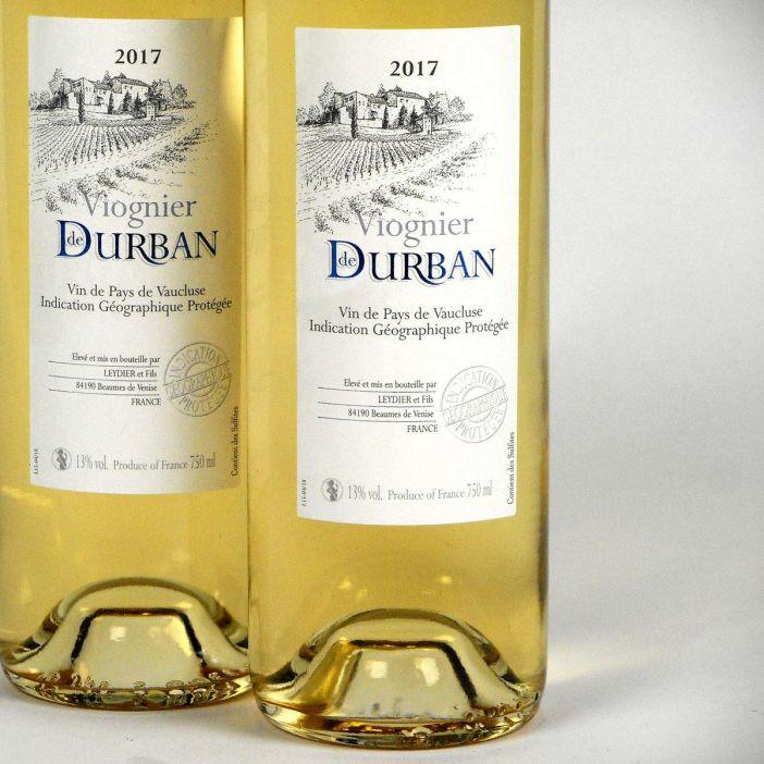 Vin de Pays de Vaucluse: Domaine de Durban Viognier 2017