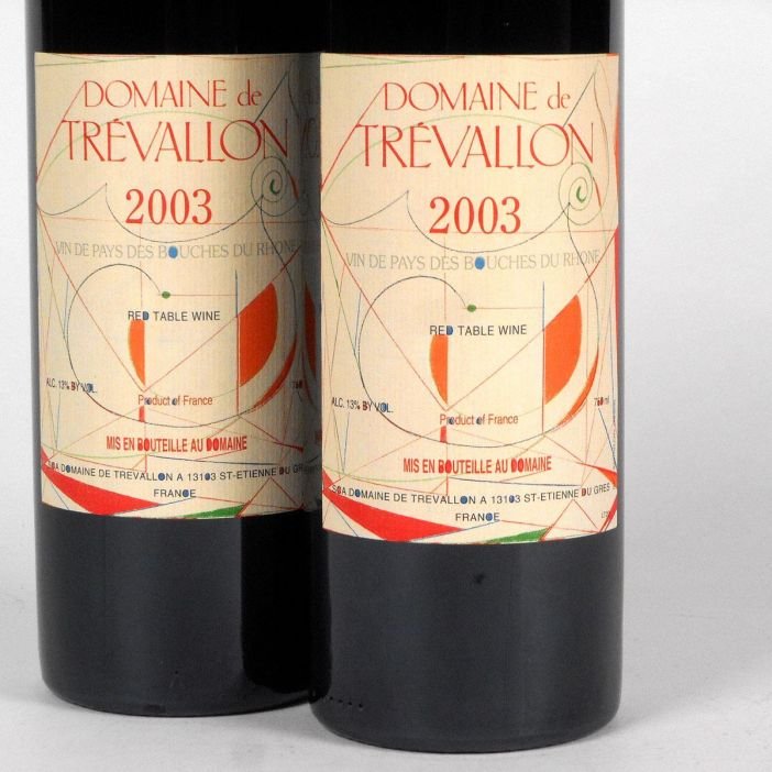 Vin de Pays des Bouches du Rhône: Domaine de Trévallon 2003