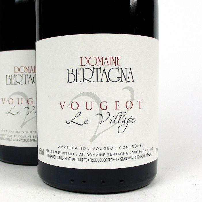 Vougeot: Domaine Bertagna 'Le Village' Rouge 2017