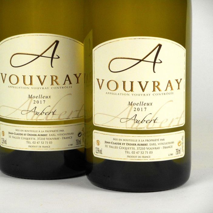 Vouvray: Jean-Claude & Didier Aubert Moelleux 2017