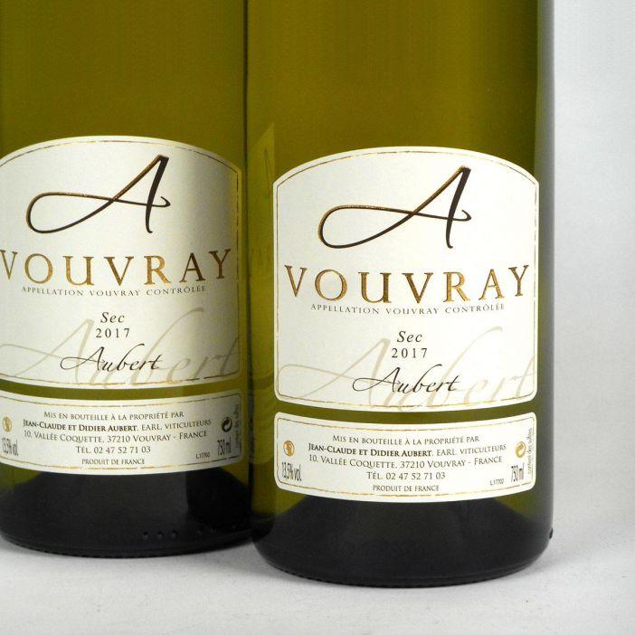 Vouvray: Jean-Claude & Didier Aubert Sec 2017